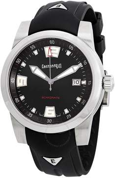 Co Eberhard And Scafomatic Automatic Black Dial Men's Watch