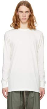 Rick Owens Off-White Long Sleeve Level T-Shirt