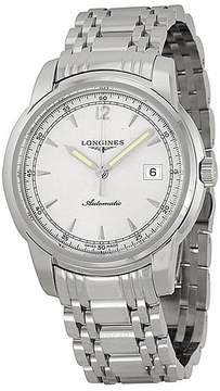 Longines Saint Imier Silver Dial Automatic Stainless Steel Men's Watch