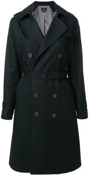 A.P.C. belted trench coat