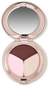 Jane Iredale PurePressed Eye Shadow Triple - Pink Bliss - shimmery baby pink matte burgundy brown and ecru
