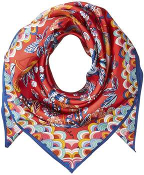 Echo Flight Of Fancy Silk Square Scarves