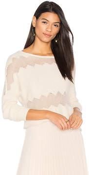 DAY Birger et Mikkelsen One Grey Rona Fringe Sweater