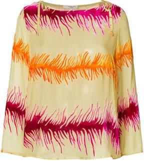Charlott graphic print blouse