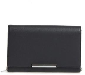Women's Botkier Vanderbilt Leather Wallet On A Chain - Black