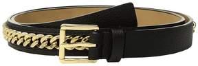MICHAEL Michael Kors Mini Pebble Chain Belt Women's Belts