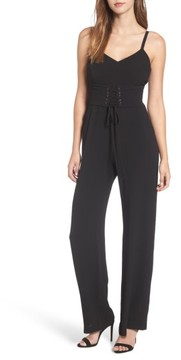 WAYF Women's Riply Corset Jumpsuit