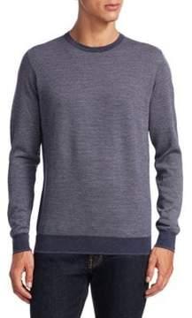 Saks Fifth Avenue COLLECTION Birdseye Merino Sweater