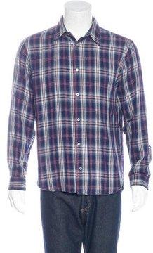 Marc Jacobs Plaid Flannel Shirt
