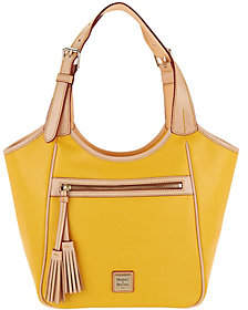 Dooney & Bourke Saffiano Leather Shoulder Bag-Maddie - ONE COLOR - STYLE