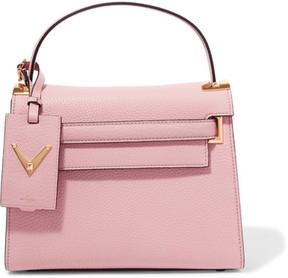 Valentino - My Rockstud Medium Textured-leather Tote - Pink