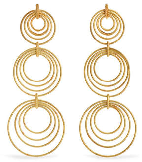 Buccellati Hawaii Waikiki 18-karat Gold Earrings