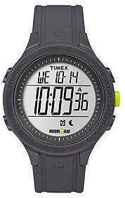 Timex Unisex Ironman Black Silicone ChronographDigital Watch