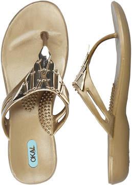 OKA b. Gold Kate Sandal - Women