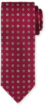 Brioni Foulard Woven Silk Tie