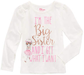 Epic Threads Mix and Match Big Sister Graphic-Print Shirt, Little Girls, Created for Macy's