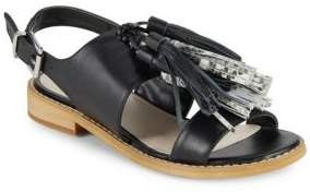 Saks Fifth Avenue Maria Leather Sandals