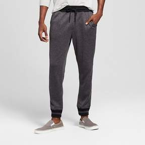 Mossimo Men's Knit Jogger Pants Dark Gray