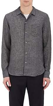 Officine Generale Men's Slub Linen Shirt