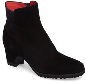 Pas De Rouge Women's Block Heel Bootie