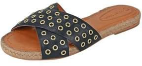 Corso Como Eyelet Embellished Sandal