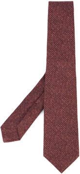 Kiton knit print tie
