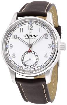 Alpina Alpiner AL710S4E6 Stainless Steel & Leather Automatic 42mm Mens Watch
