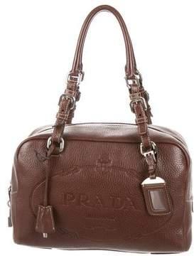 Prada Vitello Daino Bowler Bag