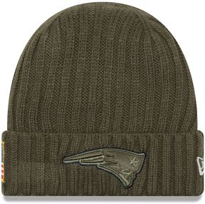 New Era Adult New England Patriots Salute to Service Beanie