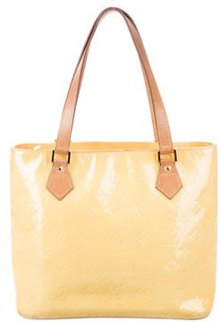 Louis Vuitton Vernis Houston Tote - YELLOW - STYLE