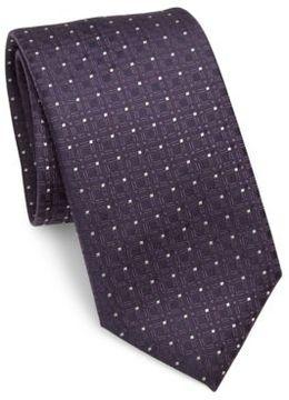 Pal Zileri Textured Silk Tie