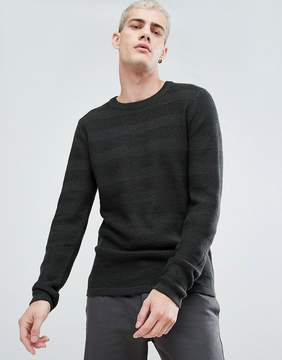 Selected Knitted Sweater In 100% Cotton
