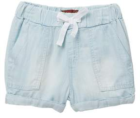 7 For All Mankind 2\ Light Weight Denim Shorts (Little Girls)