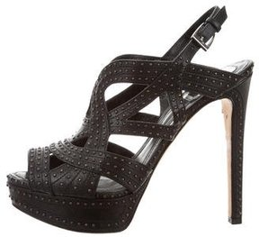 Christian Dior Studded Caged Sandals