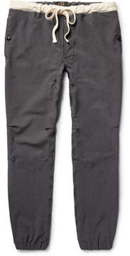 Beams Slim-Fit Stretch-Nylon Twill Drawstring Trousers