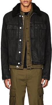 Helmut Lang Men's Cotton Denim Slim Trucker Jacket