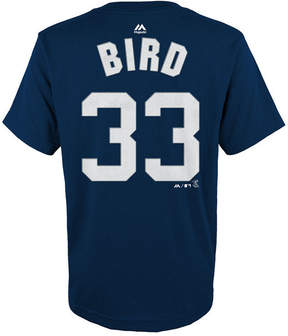 Majestic Greg Bird New York Yankees Official Player T-Shirt, Big Boys (8-20)
