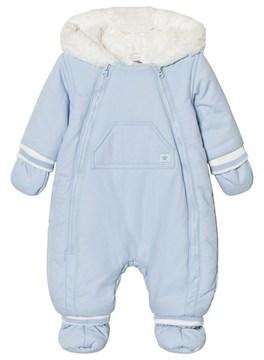 Absorba Pale Blue Fleece Lined Snowsuit