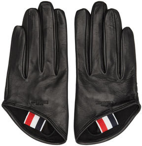Thom Browne Black Unlined Lowcut Gloves