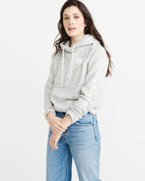 Abercrombie & Fitch Printed Logo Hoodie