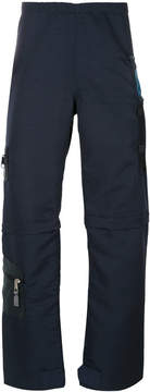 Longjourney zipped cargo trousers