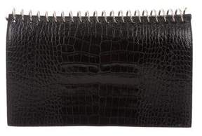 Alexander Wang Embossed Leather Clutch