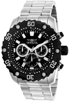 Invicta Pro Diver Men's Watch 22516 Silver/Black Quartz