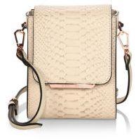 KENDALL + KYLIE Violet Leather Mini Crossbody Bag