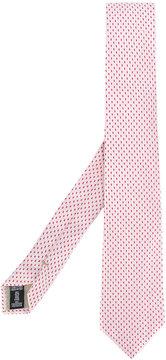 Armani Collezioni patterned tie