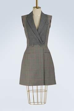 Alexander McQueen Wool tailored dress