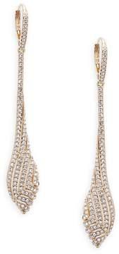Adriana Orsini Women's Zen Swarovski Crystal and Sterling Silver Drop Earrings