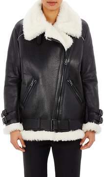 Acne Studios Women's Oversized Velocite Moto Jacket