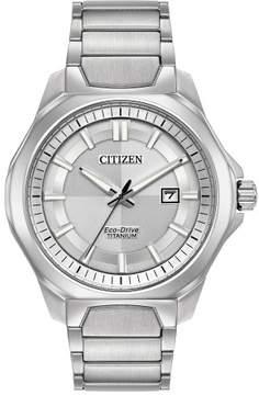 Citizen AW1540-88A Silver Titanium Men's Watch
