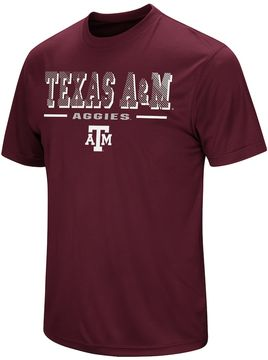 Colosseum Men's Campus Heritage Texas A&M Aggies Embossed Tee
